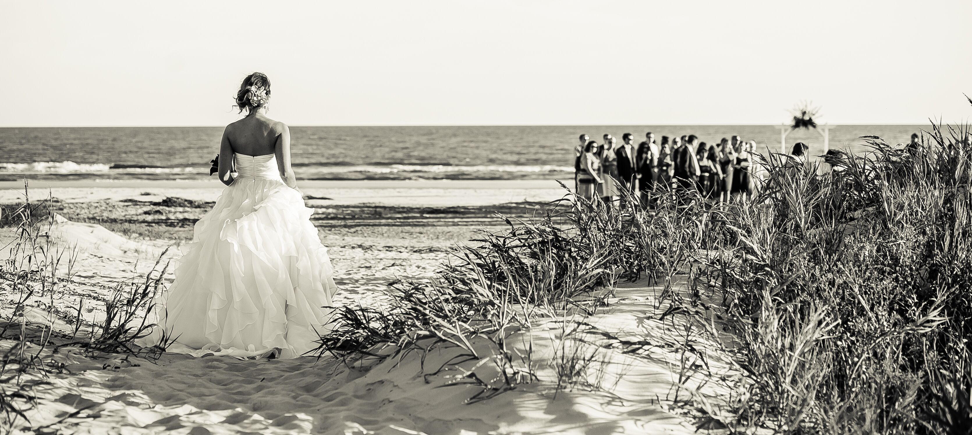 Beachside J.Crew Wedding Dress