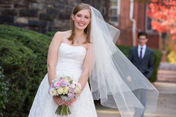 First Look At Baltimore Library Wedding