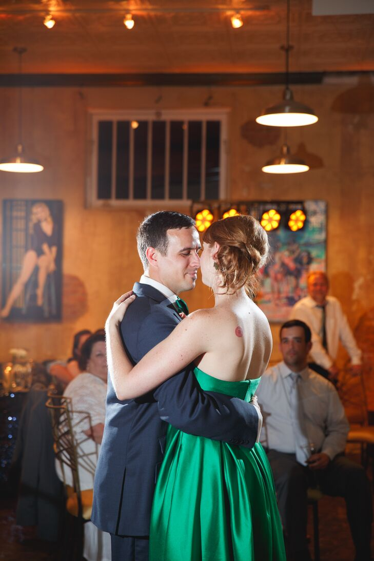 a modern unconventional wedding at hot damn tamales in