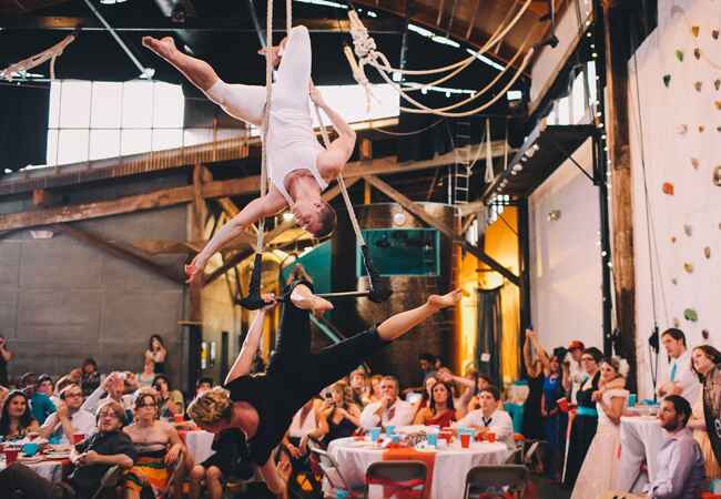 Cool Wedding Entertainment | Anna Almasy Photographer | Blog.TheKnot.com