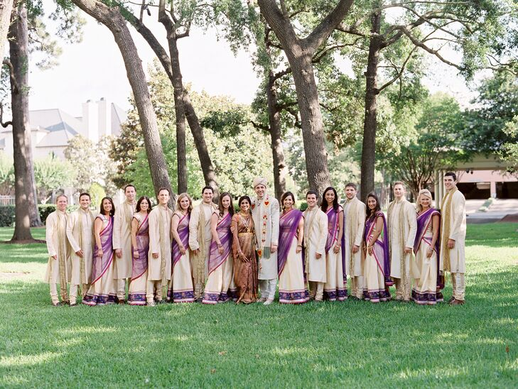 Traditional Indian Wedding Party