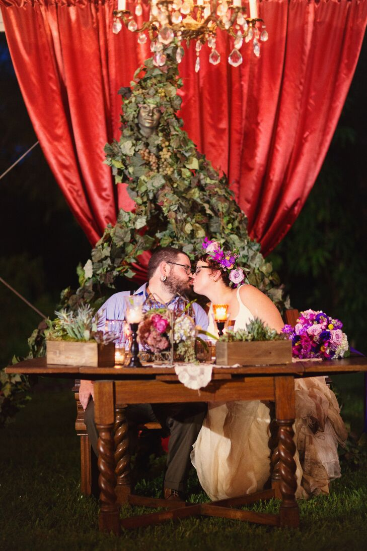 A Whimsical, Colorful Wedding at Marie Selby Gardens in Sarasota ...