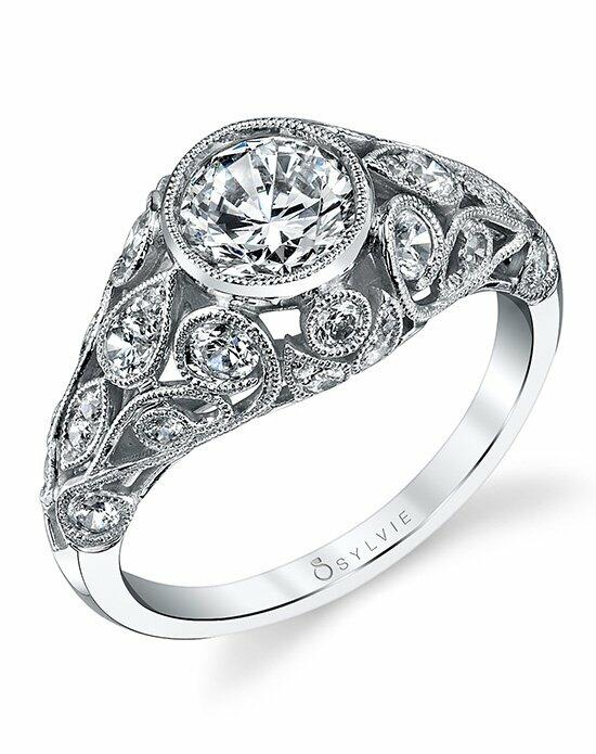 Sylvie Collection S1204 Engagement Ring photo