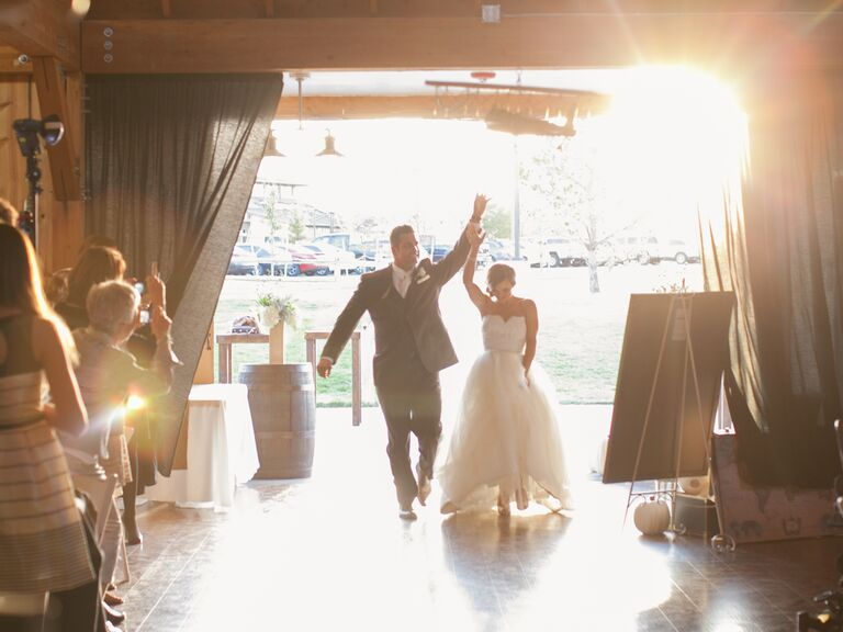 20 Wedding Reception Entrance Songs