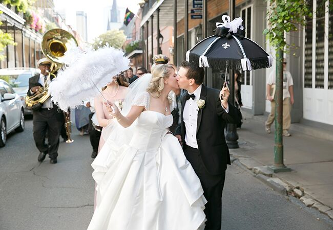 5 Things You Need for a New Orleans–Inspired Wedding Parade