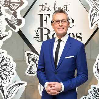 Randy Fenoli at The Knot Gala 2016