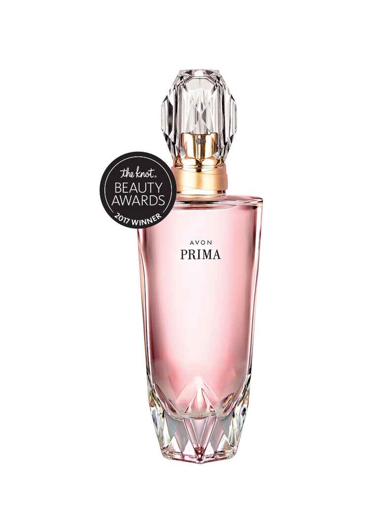 The Knot budget pick for best fragrance is Avon Prima