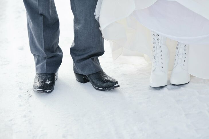 Winter Wedding Boots