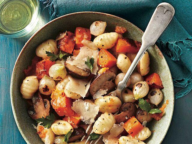 veggies and gnocchi
