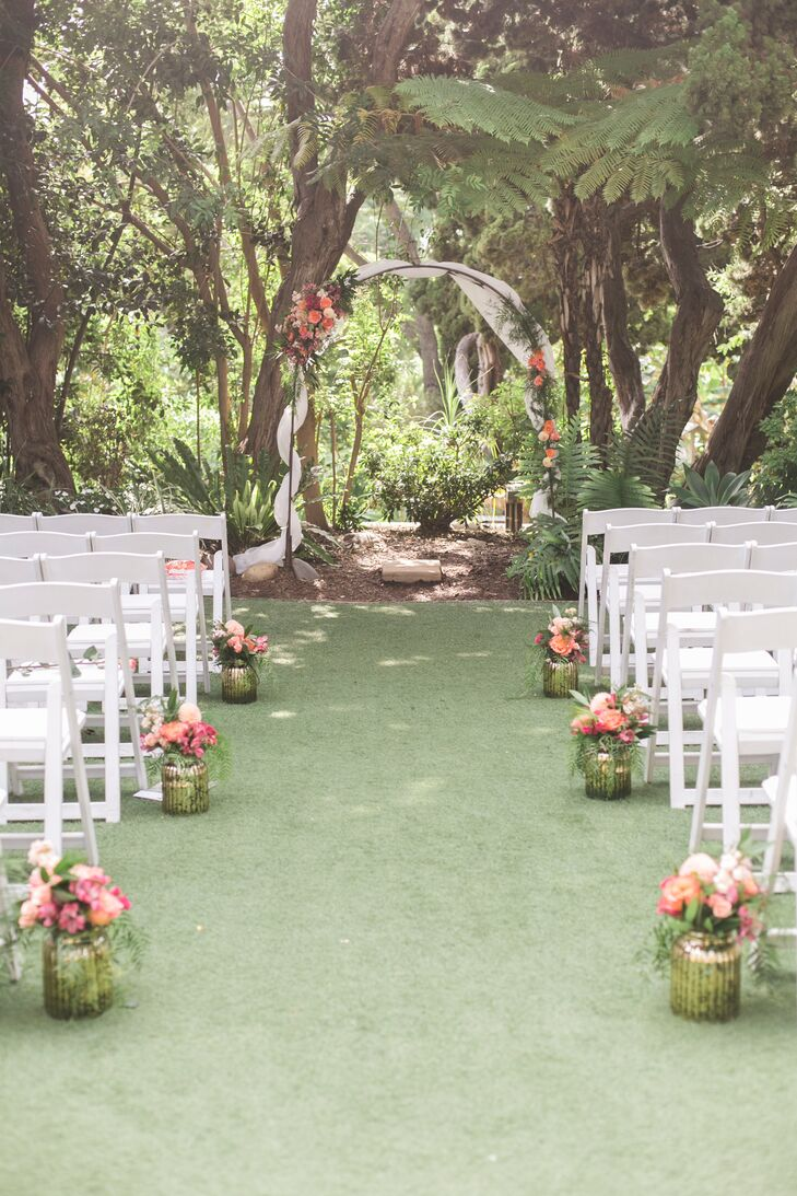 A Glamorous Garden Wedding At San Diego Botanic Garden In Encinitas California