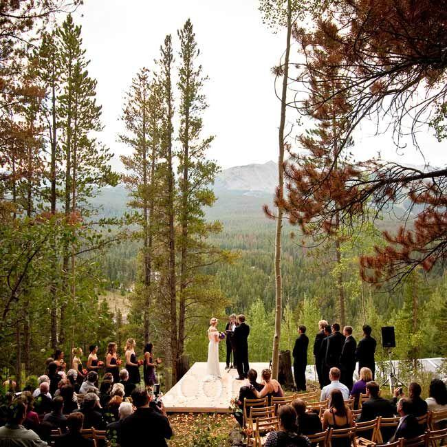 Mountain Wedding Ceremony: A Mountain Wedding In Breckenridge, CO