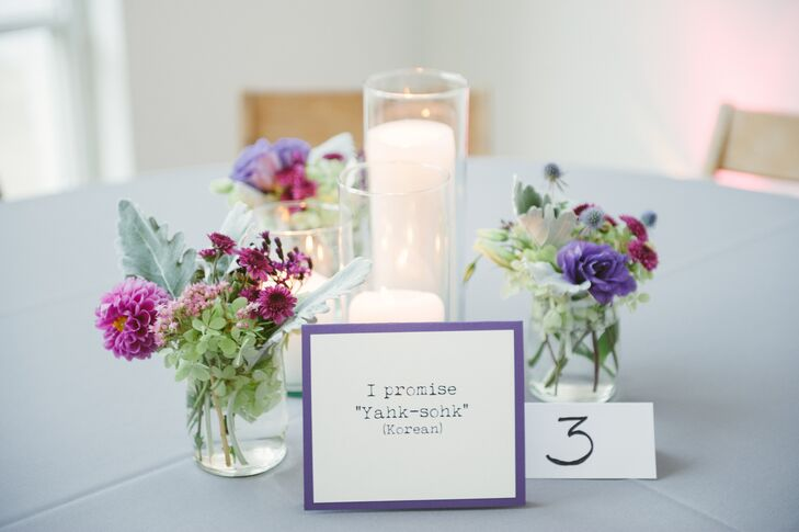 Purple Floral Centerpieces And Korean Term Table Names. Blank Wedding Invitations Hobby Lobby. Photography Wedding Murah. Wedding Quotes And Images. Small Wedding New York. Advertise My Wedding Planning Business. Wedding Planners Maryland. Wedding Planner Jobs Southampton. Wedding Location Revenge