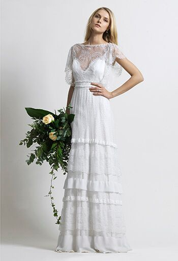 ready to wear designer athens greece based christos costarellos just launched his debut collection of beyond gorgeous wedding gowns his dresses show