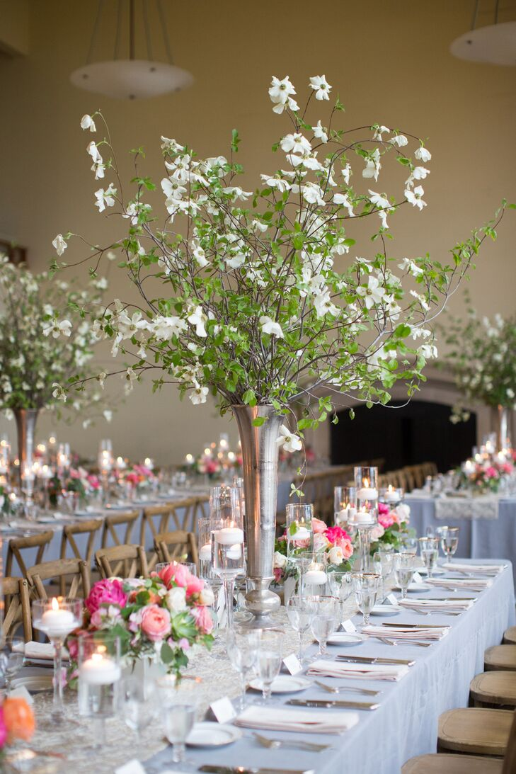Tall Branch Dining Table Centerpiece