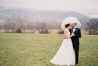 "Krista Edelman (29 and a physician) and Carter Cowardin (31 and a health-care administrator) always knew they wanted a winter wedding. ""In the summer,"