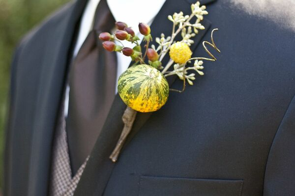 Rustic Harvest Boutonniere