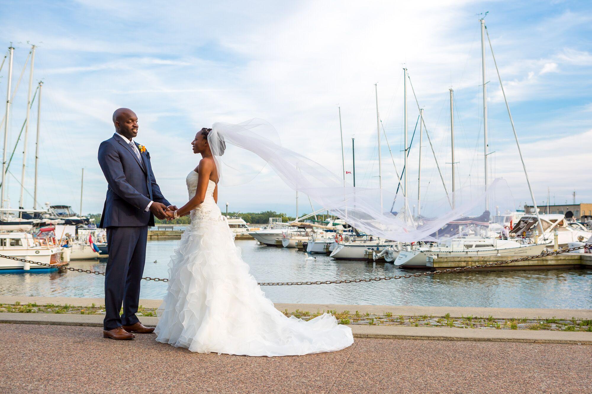 A Classic Lake Ontario Cruise Wedding with Mariposa Cruises in ...