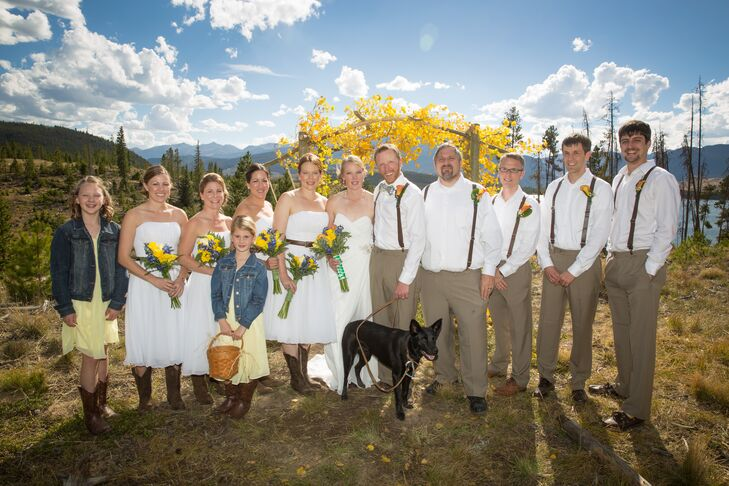 Casual Wedding Party Attire