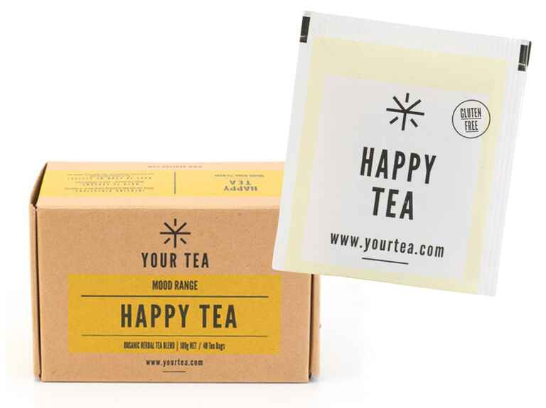 Happiness Tea to help with wedding stress