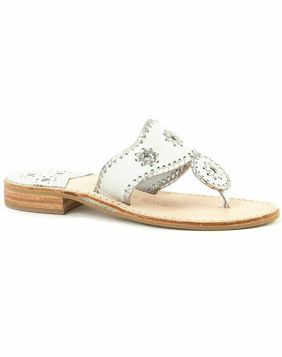 Jack Rogers Hamptons Sandal-white Wedding Shoes photo