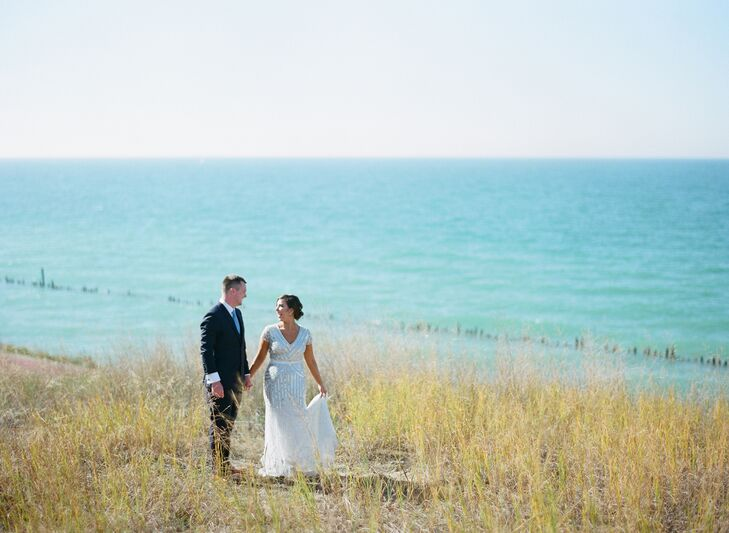Benton Harbor Waterfront Wedding Photos
