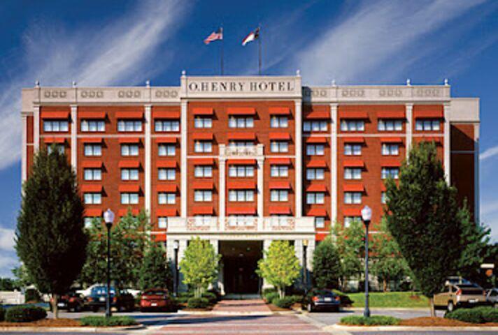 O Henry Hotel Greensboro Nc