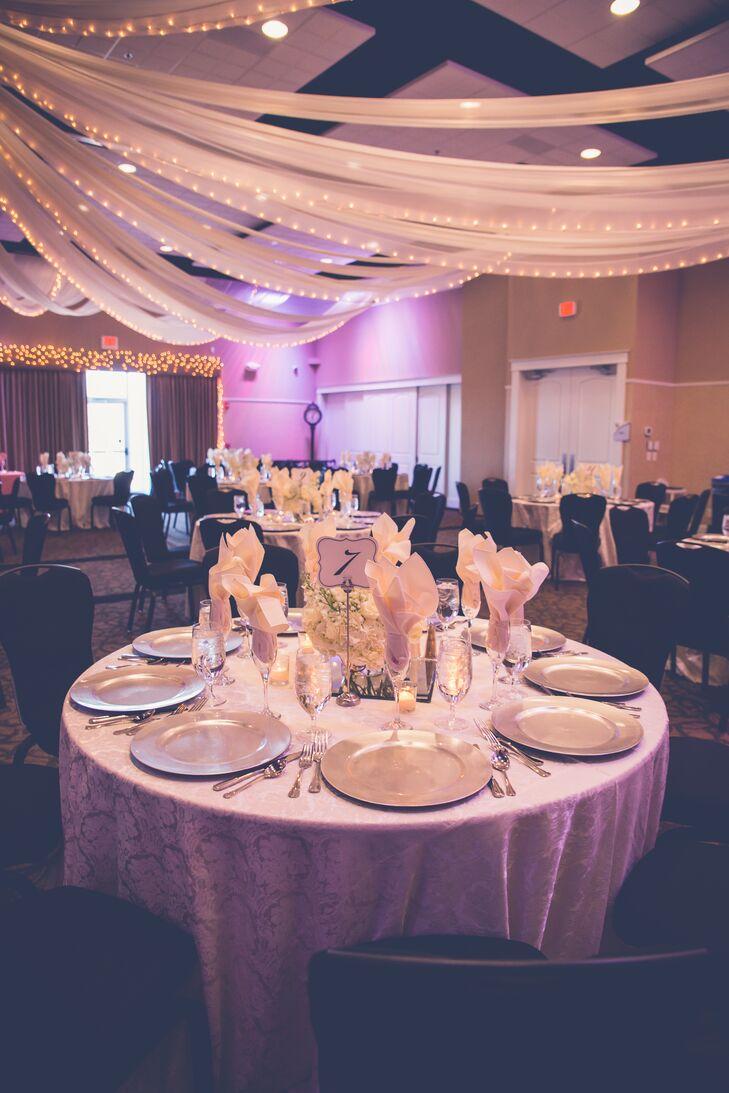A Romantic, Elegant Ballroom Wedding at Grand Oaks Event & Business ...