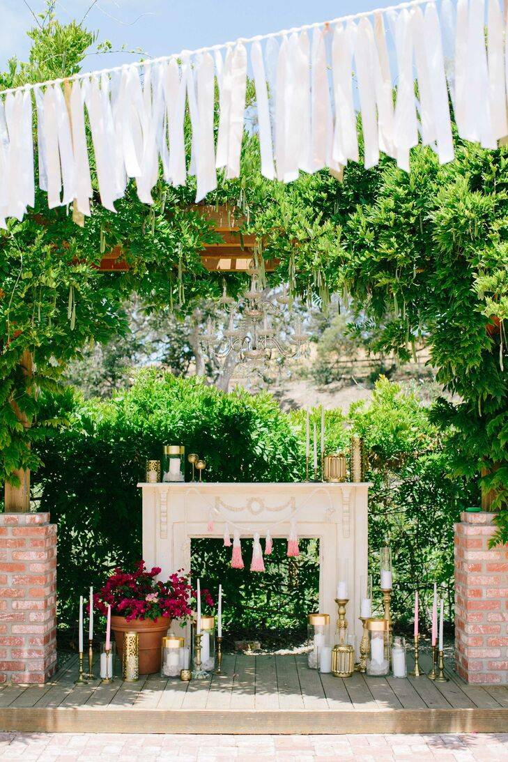 An Elegant Wedding With A Glamorous Twist At The Gardens At Peacock Farms In Arroyo Grande
