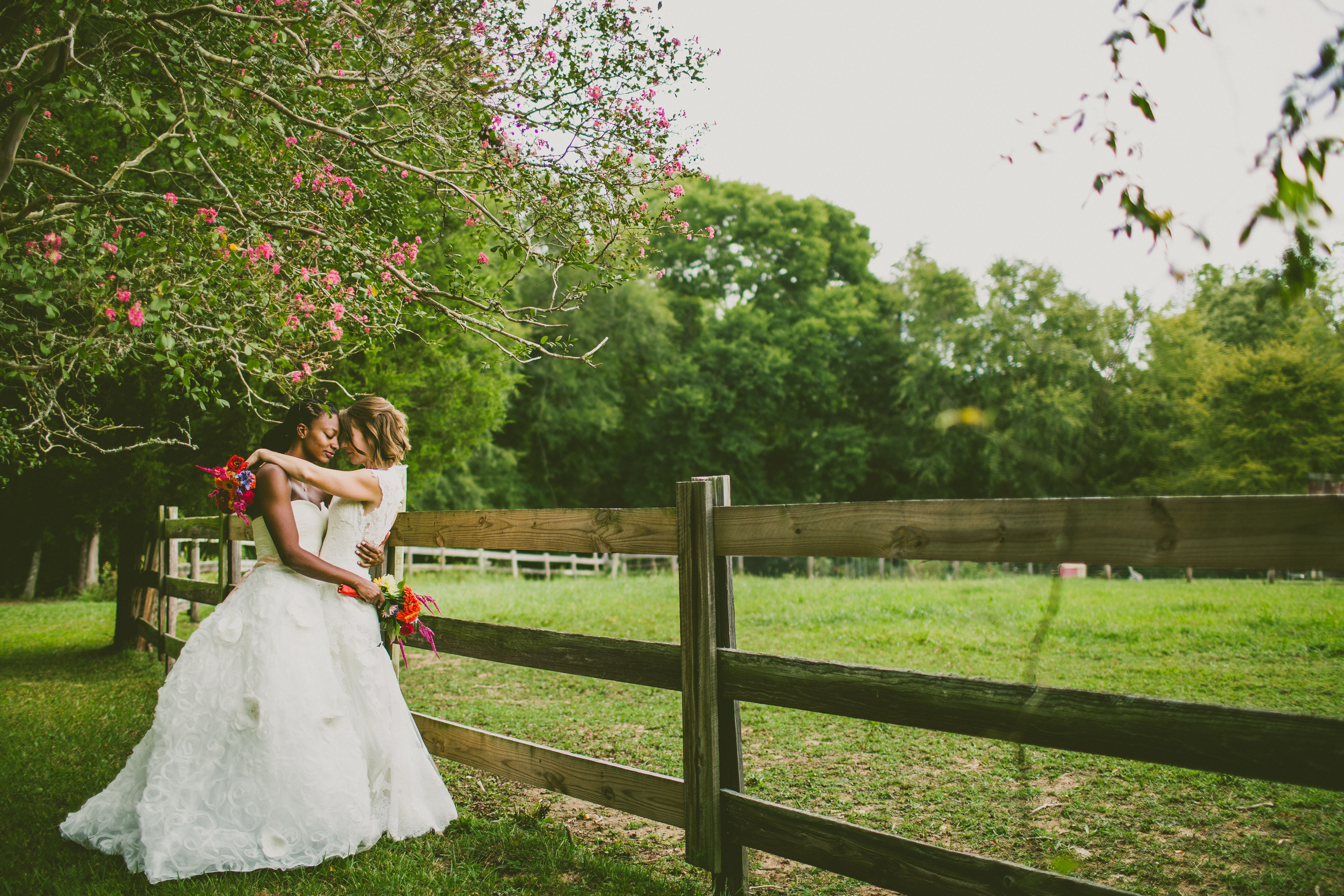 A Whimsical Backyard Garden Wedding In Pittsboro North Carolina