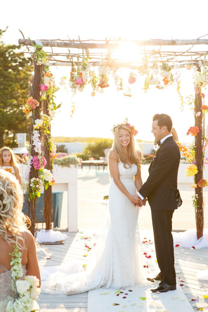 A Bright, Bohemian Beach Wedding at Sun and Surf Beach Club in ...