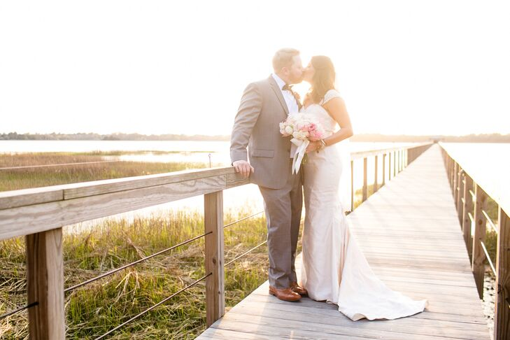 A Chic Lowcountry Wedding At Lowndes Grove Plantation In Charleston South Carolina