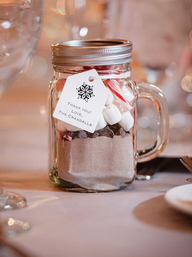 Hot Cocoa Favors Diy Chocolate Wedding