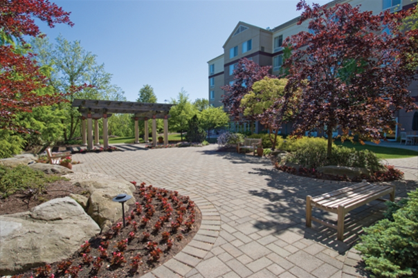 Wedding reception venues in chagrin falls oh the knot for Hilton garden inn cleveland east