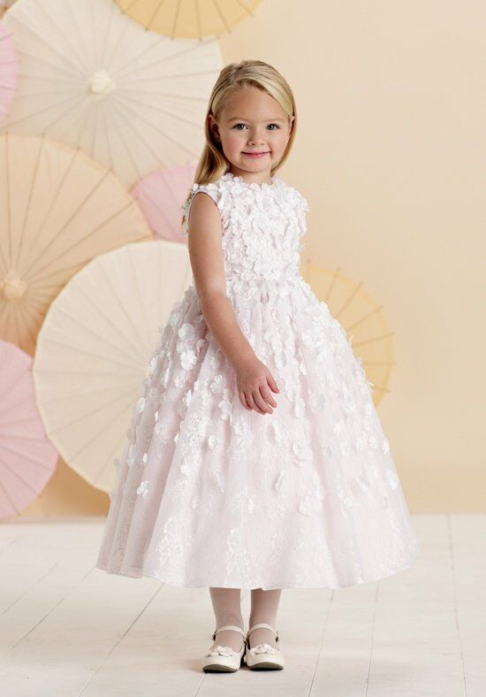 Joan Calabrese by Mon Cheri 214382 Flower Girl Dress photo