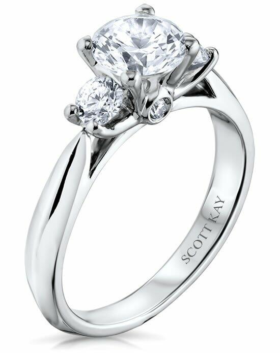 Scott Kay M0722R310 Engagement Ring photo