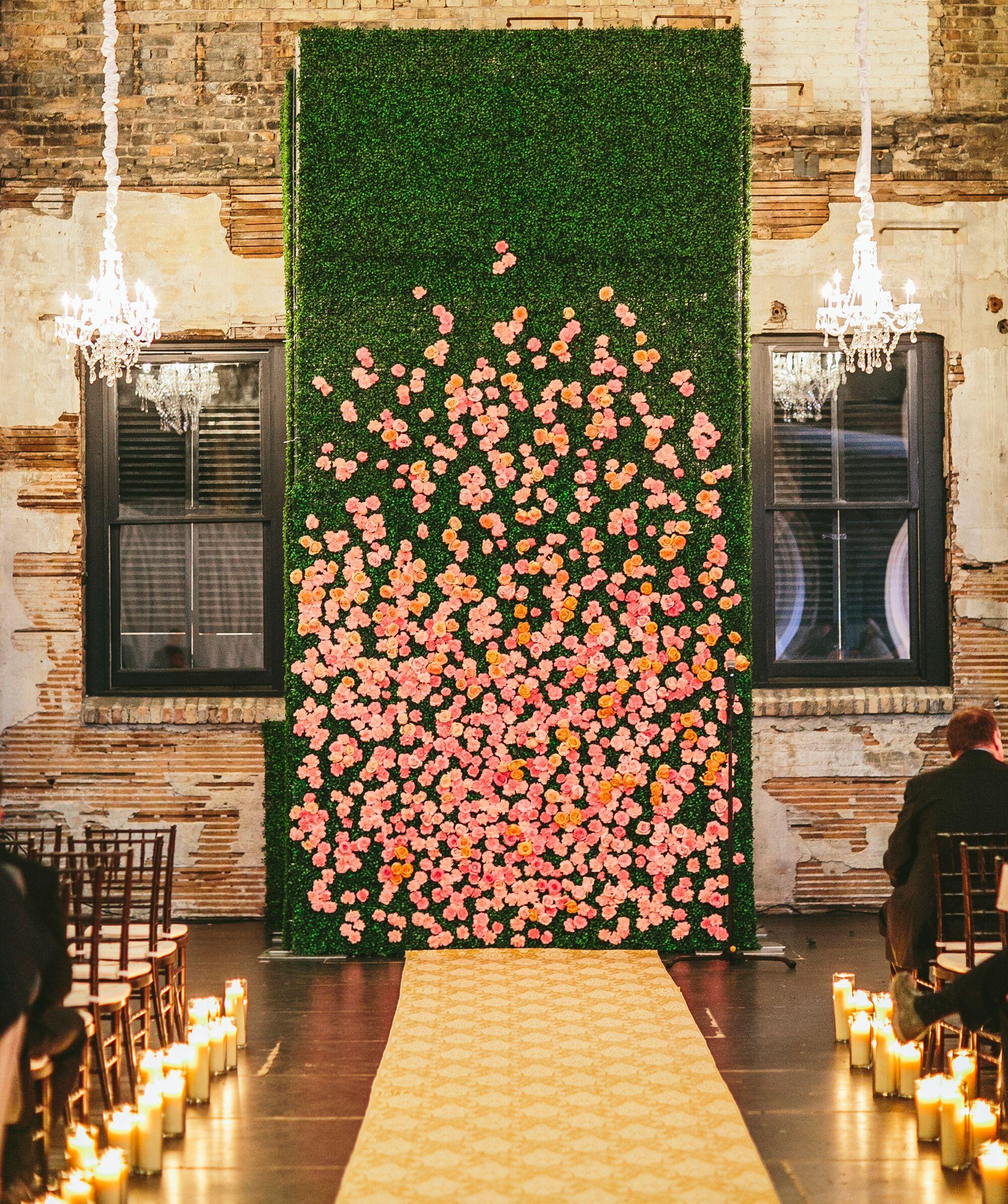 20 Totally Unexpected Wedding Flower Ideas on indoor farm design, indoor water fountain design, indoor room design,