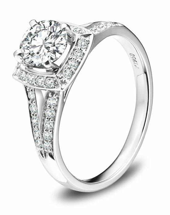 Platinum Engagement and Wedding Ring Must-Haves Robbins Brothers Platinum and Diamond Ring Engagement Ring photo