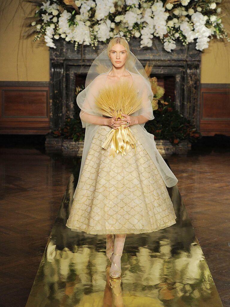 Yolan Cris Fall Collection Bridal Fashion Week Photos