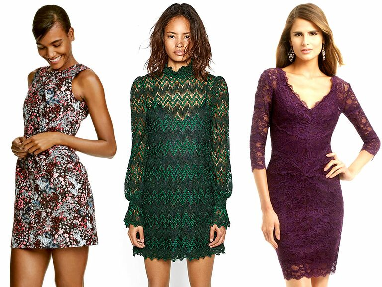 What To Wear A Fall Wedding 60 Dresses For Guests