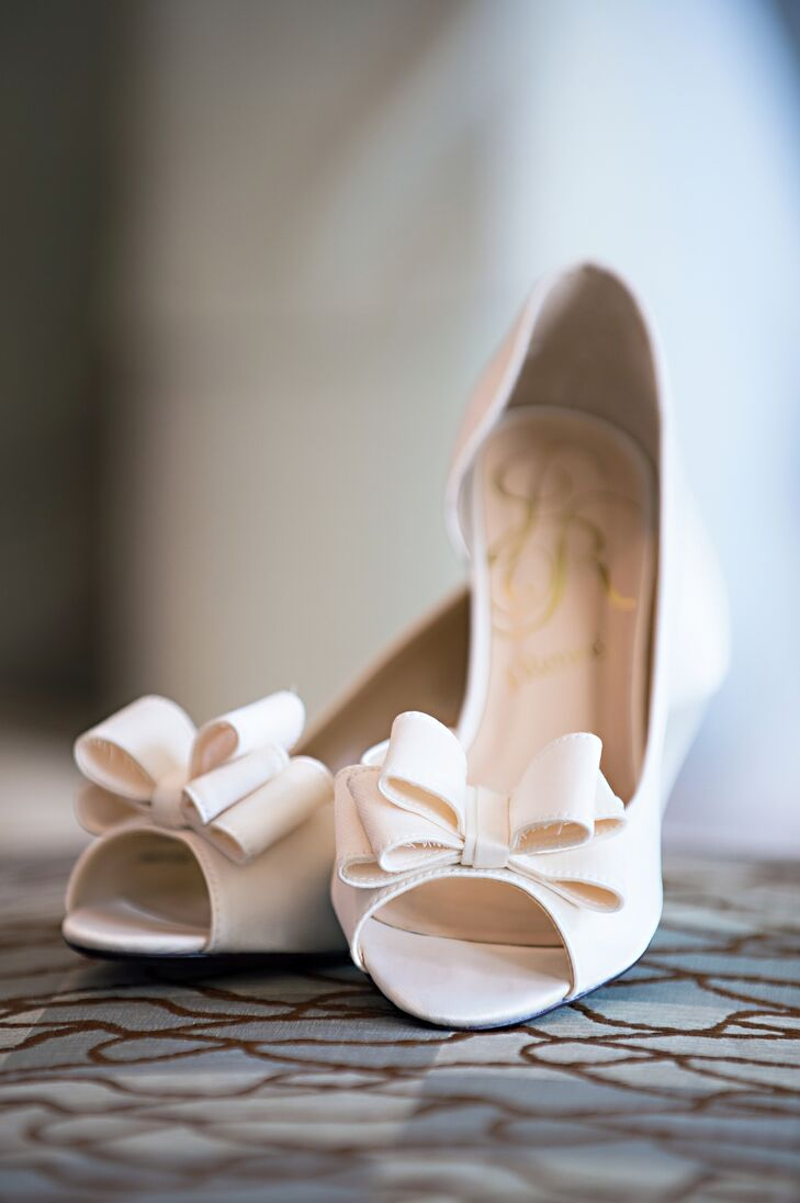1861840fe86 Ivory J. Renee Wedding Shoes with Bows