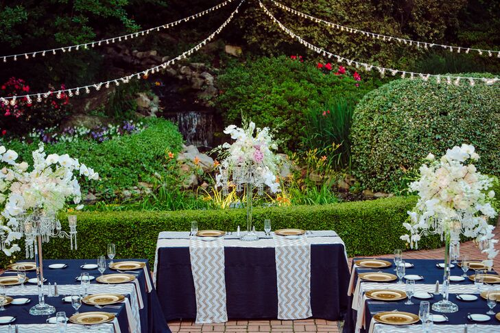 A Glamorous Terrace Wedding At Little Gardens In Lawrenceville Georgia