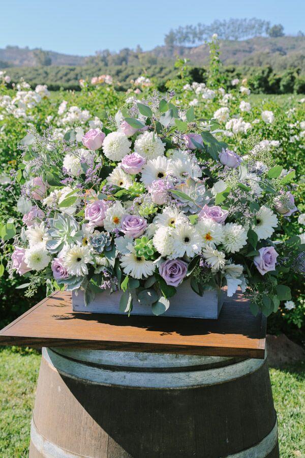 Gerbera Daisy Wedding Flower Arrangements