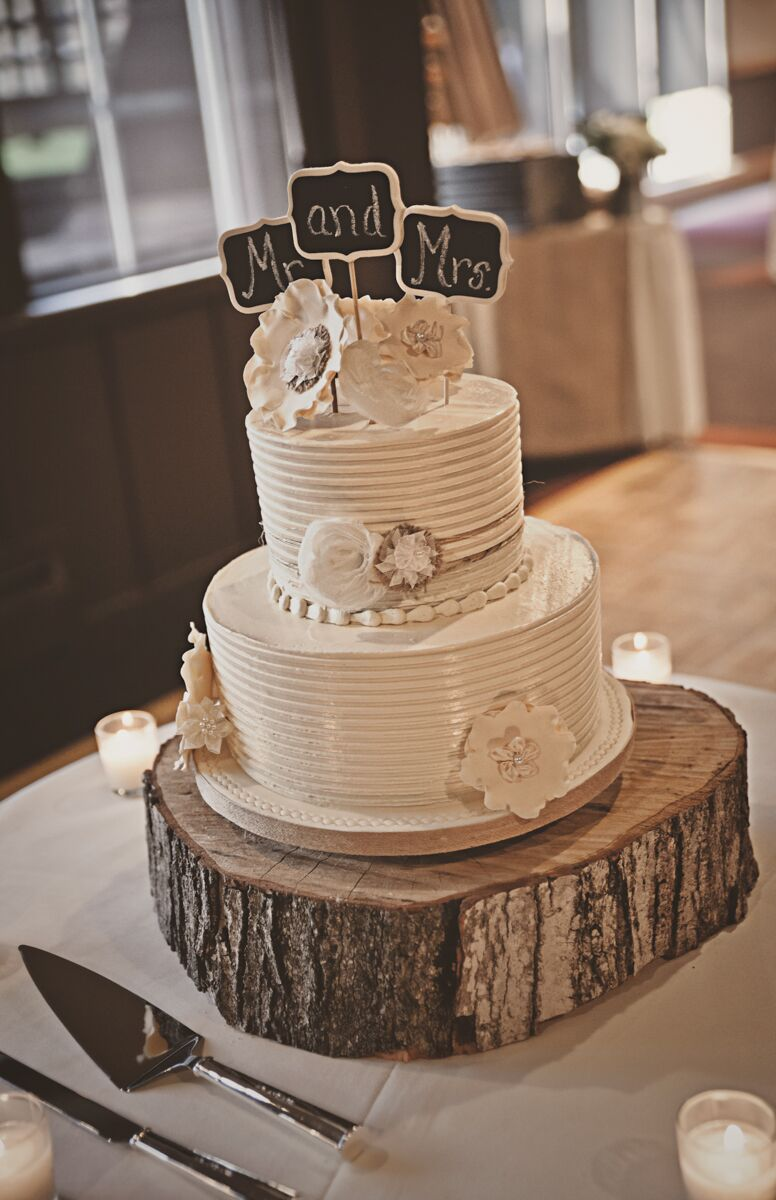 Tier Navy Weddings Cakes