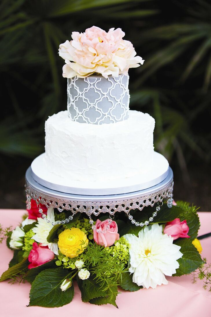 gray wedding cake designs gray wedding cake 14904