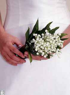 Small lily of the valley bouquet