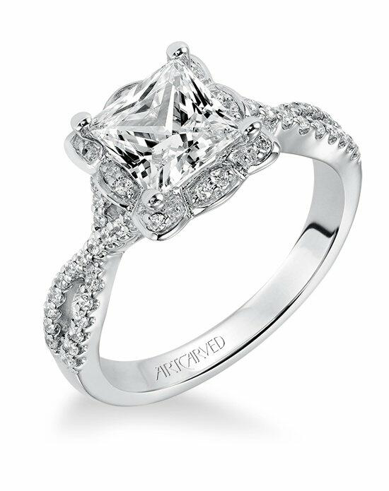 ArtCarved 31-V339GCW Engagement Ring photo