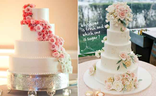 best sugar flower wedding cakes fresh or sugar wedding cake flower quiz see the photos 11367