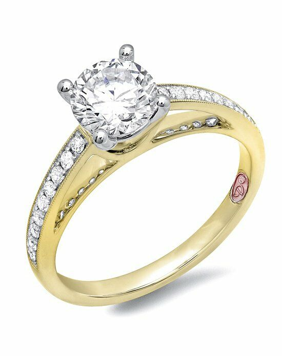 gold engagement rings - Wedding Ringscom