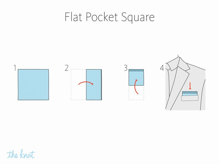 The Knot How To Fold A Flate Pocket Square