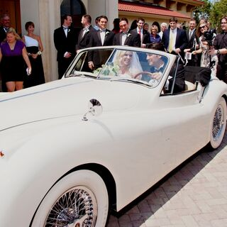 Real Exotic + Classic Wedding Cars